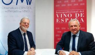 Acuerdo entre la OIVE y el OeMv para la mejora de la información del sector del vino